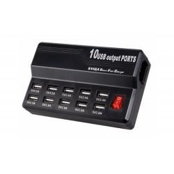 Cargador USB 10 Puerto
